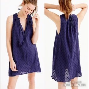 J CREW Clip Dot Sleeveless Tunic or Dress